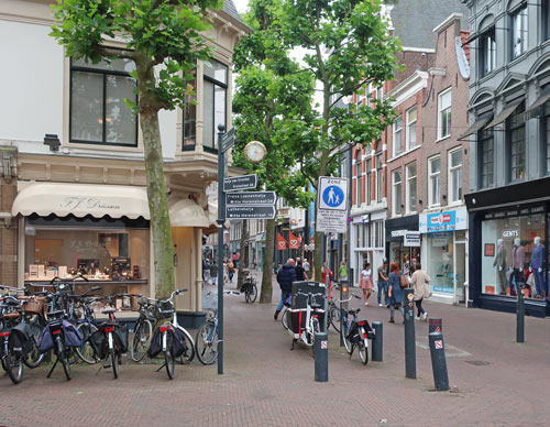 Shopping in Haarlem Holland
